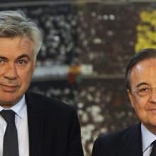 Ancelotti e Perez