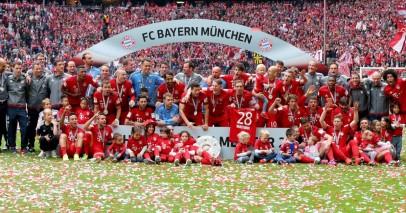 Bayern Monaco campione Bundesliga