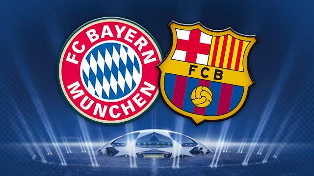 Bayern Monaco vs Barcellona