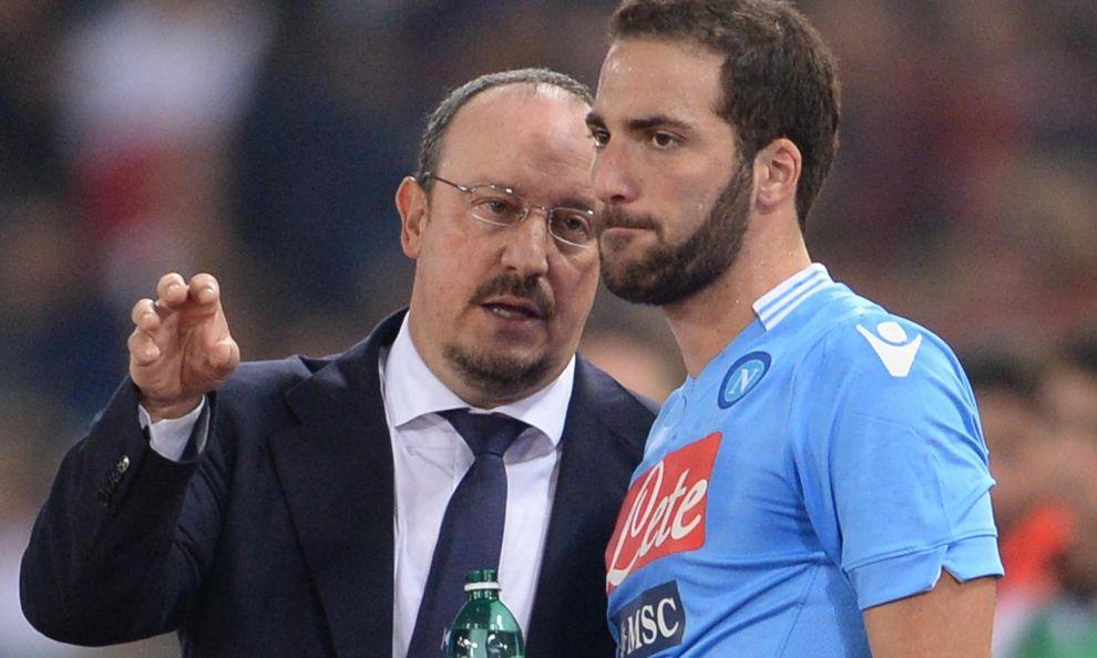 Benitez e Higuain