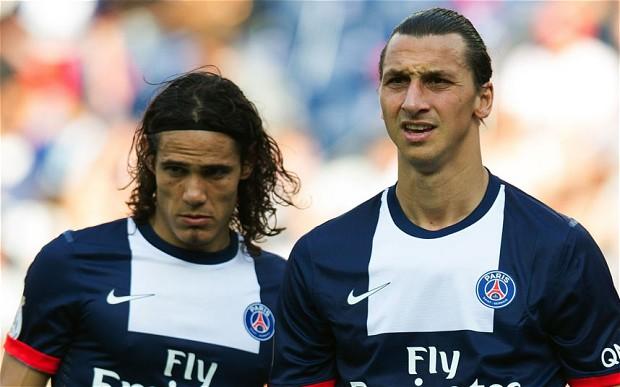 Cavani e Ibrahimovic