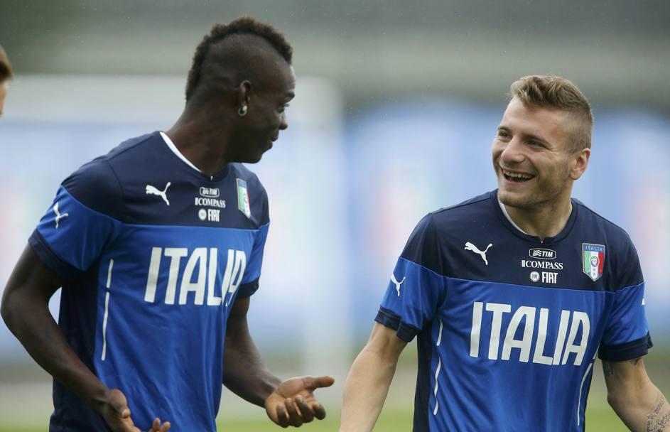 Debutto azzurro in Brasile: L'Italia spinge Immobile, Prandelli, Balo