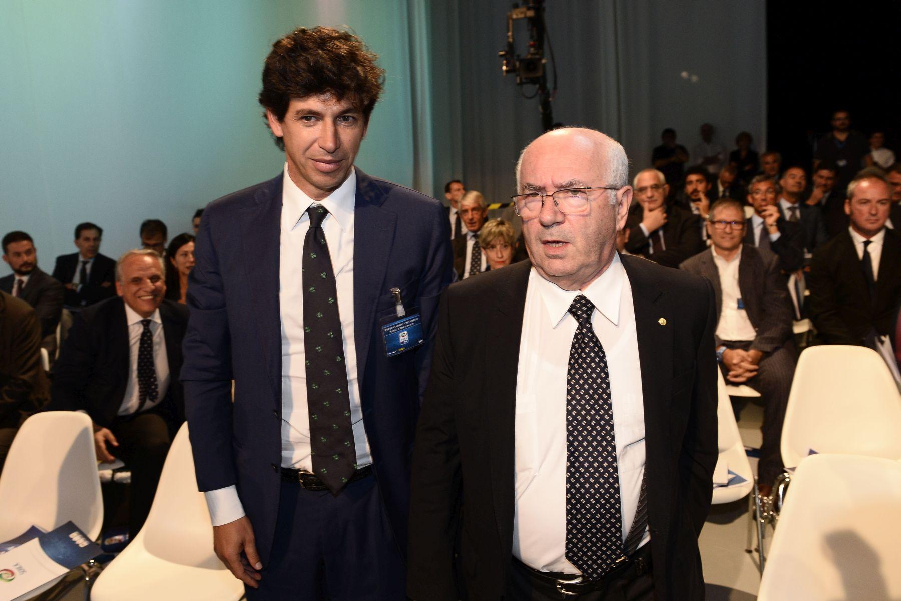 Demetrio Albertini e Carlo Tavecchio