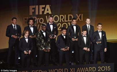 FIFA FIFPro World 11 2015