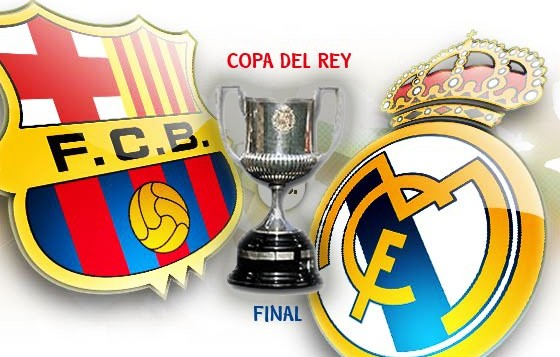 FINALE COPPA DEL RE 2014: Barcellona-Real Madrid, out CR7