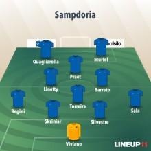 Formazione Sampdoria