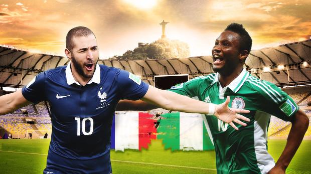 Francia-Nigeria, Ottavi di Finale ore 18: Formazioni, news
