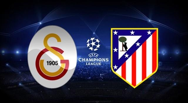 Galatasaray-Atletico Madrid