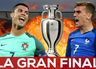 Griezmann e Cristiano Ronaldo
