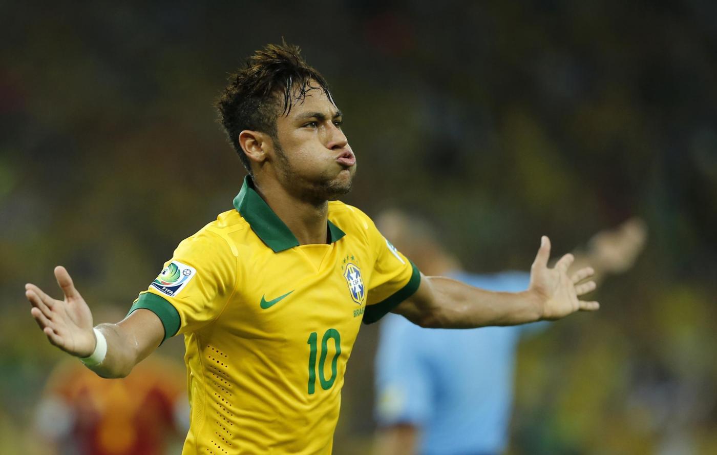 Il Brasile nel segno di Neymar: Poker al Camerun