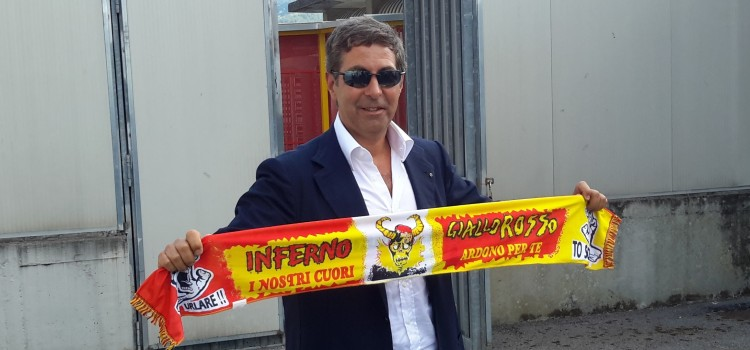 Il Presidente del Benevento Pallotta