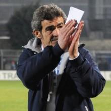 Il tecnico del Benevento Gaetano Auteri