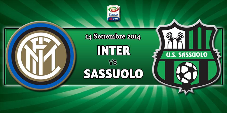 Inter-Sassuolo 2^ Giornata