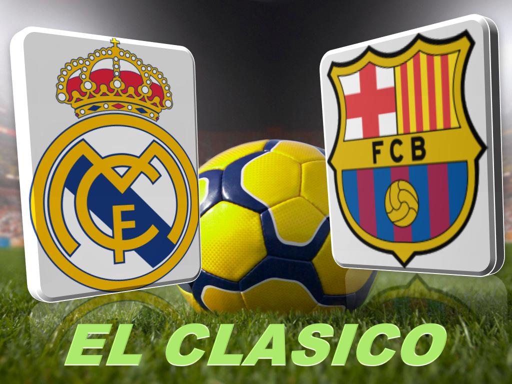 """Liga Spagnola, è il giorno del """"Clasico"""": Real Madrid-Barcellona"""