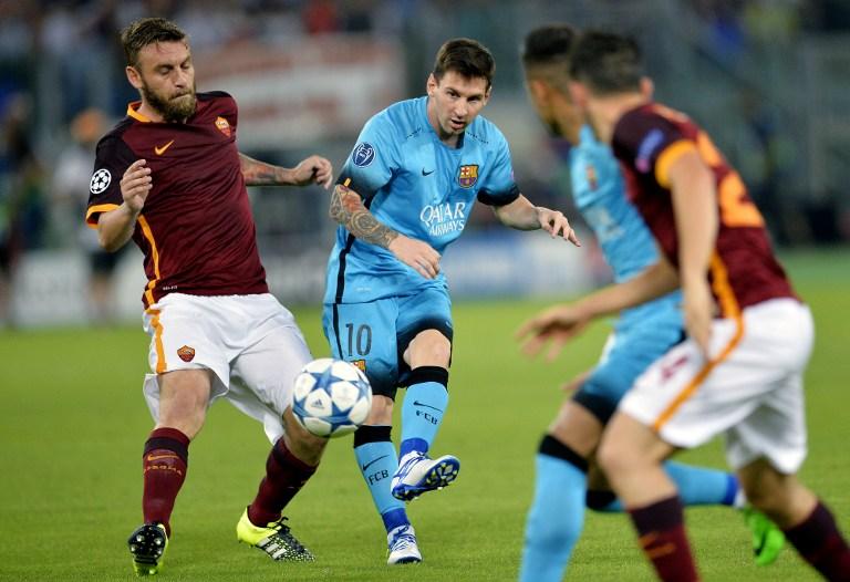 Messi e De Rossi