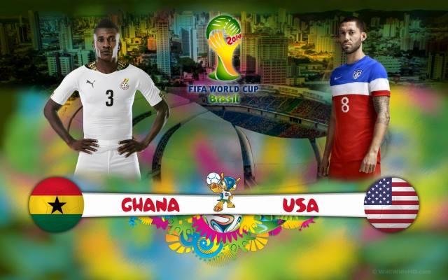 Mondiali Gruppo G, Ghana-Stati Uniti: Formazioni