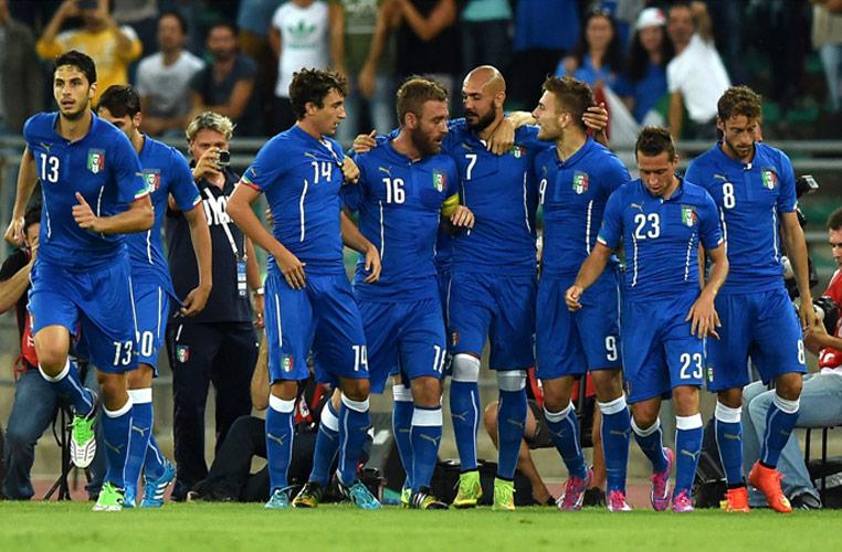 Nazionale Italiana in amichevole a Bari