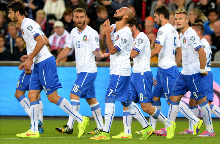 Norvegia-Italia Euro 2016