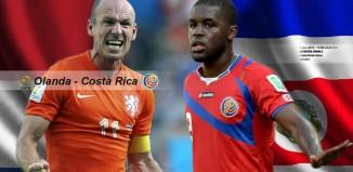 Olanda-Costa Rica Quarti di Finale ore 22: Formazioni, news