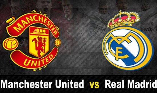 Real Madrid-Manchester United, Guinness Cup 2014