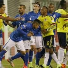 Rissa Neymar e Bacca in Brasile-Colombia
