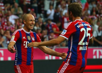 Robben e Muller