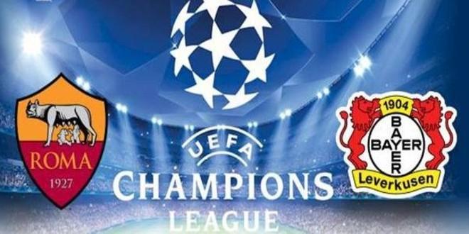 Roma-Bayer Leverkusen