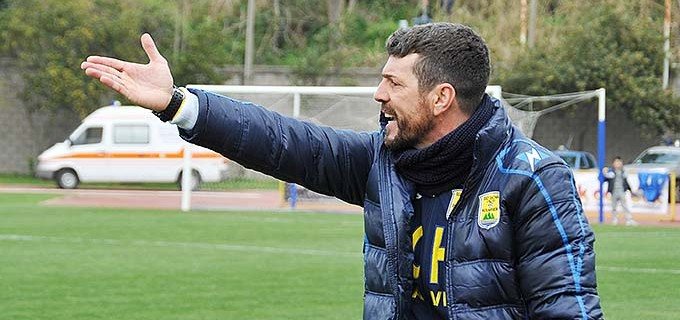 Salvatore Campilongo neo allenatore della Casertana