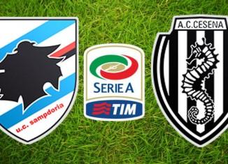 Sampdoria vs Cesena