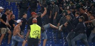 Scontri tra Roma-CSKA Mosca
