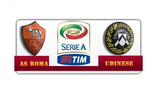 Serie A, Roma-Udinese
