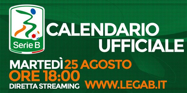 Sorteggio Calendario Lega B