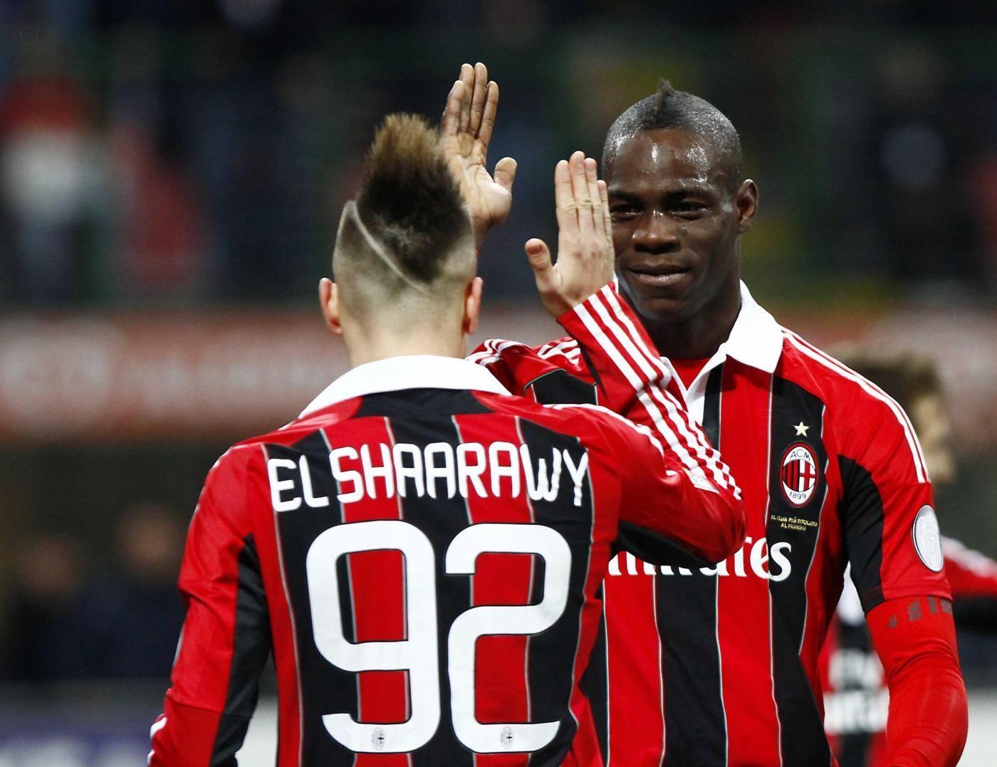 Stephan El Shaarawy e Mario Balotelli