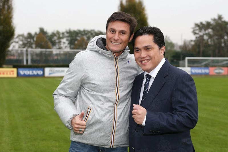 Thohir ritira la maglia n. 4: Zanetti vicepresidente dell'Inter