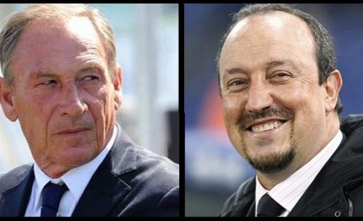 Zeman e Benitez