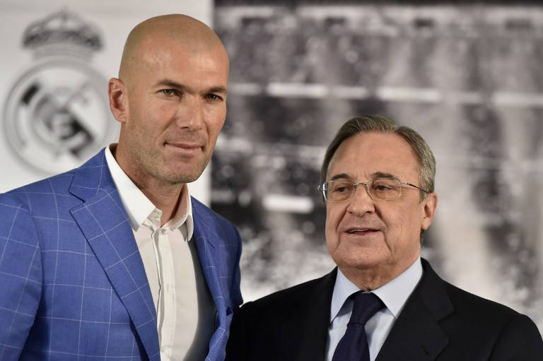 Zidane e Perez