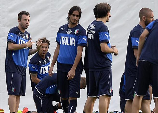 nazionale italiana in ritiro al Resort