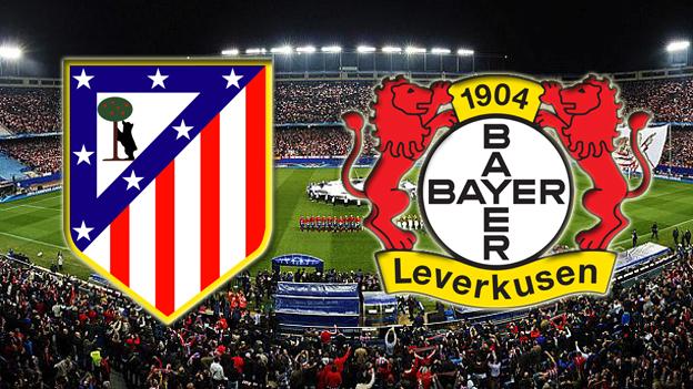 Atletico Madrid-Bayer Leverkusen