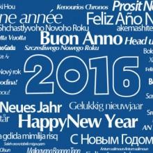 Buon Anno 2016