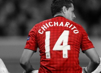 Javier Chicharito Hernandez Manchester Utd