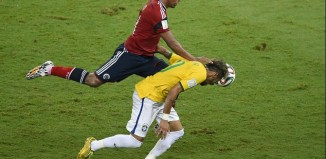 L'infortunio di Neymar: Minacce di morte per Zuniga
