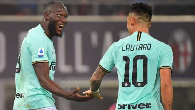 Lukaku e Lautaro Martinez