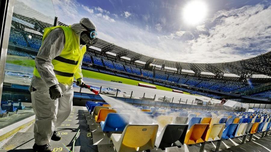 Sanificazione degli stadi