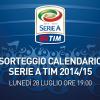Sorteggio Calendario Serie A 2014-15